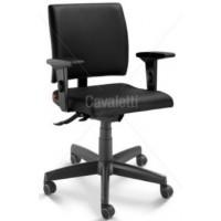 Cadeira Executiva Slim Preta